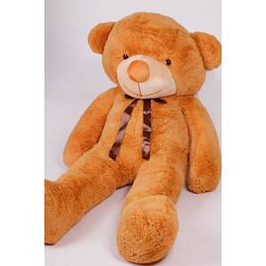 Плюшевый медведь Тедди: карамельный 200 см