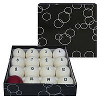Белые шары для игры в бильярд D=68мм