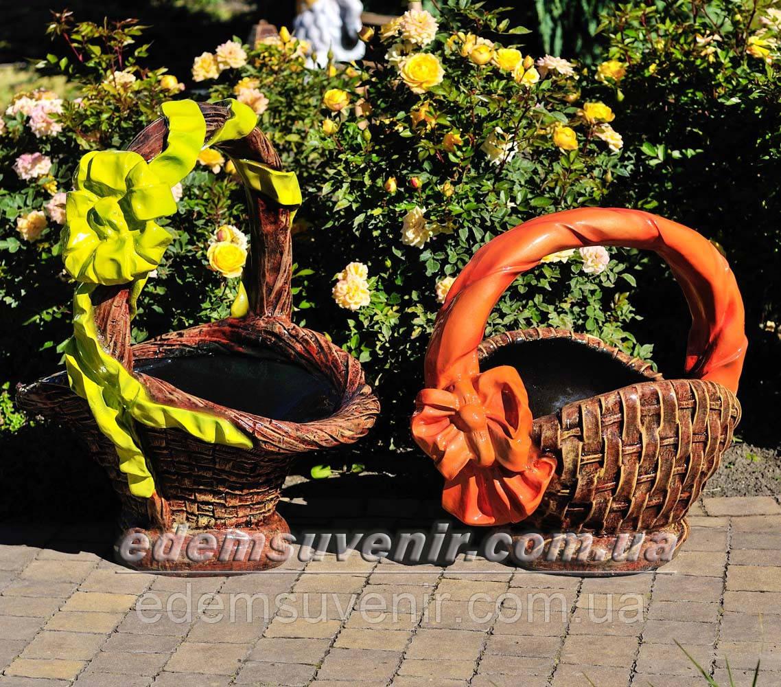 Садовые фигуры подставка для цветов Корзины