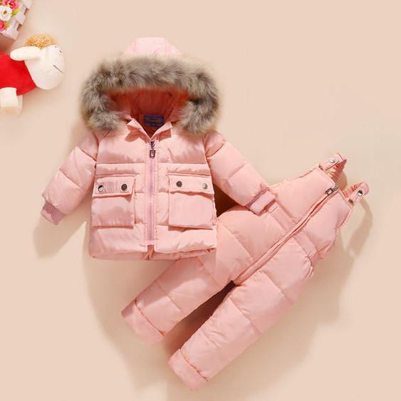 Детский комбинезон Light pink
