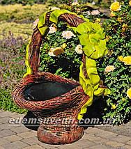 Садові фігури підставка для квітів Кошики, фото 3