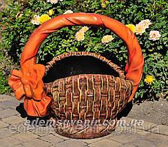 Садовые фигуры подставка для цветов Корзины, фото 2