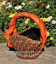 Садовые фигуры подставка для цветов Корзины, фото 3