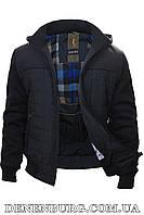 Куртка еврозима чоловіча WOLVES W-7312 темно-синя, фото 1