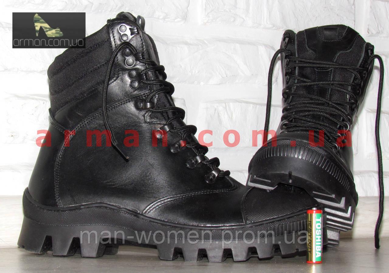 """Зимние тактические ботинки """"M-16"""". Кожа+кордура. Размеры: 40,41, 42, 43, 44, 45"""