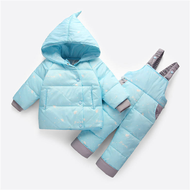 Детский комбинезон Snow Голубой