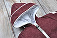 Кашемировый комбинезон, марсала, фото 8