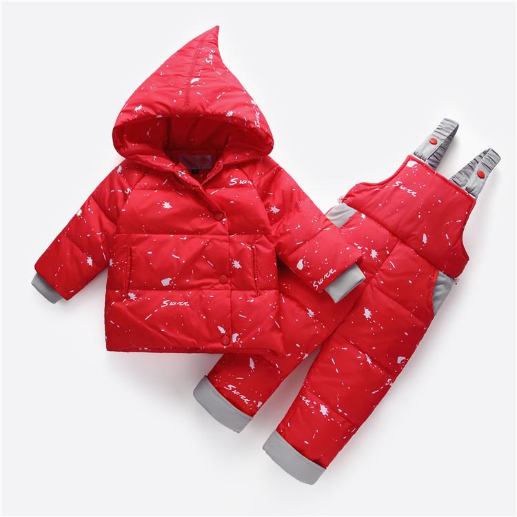 Детский комбинезон Snow Красный