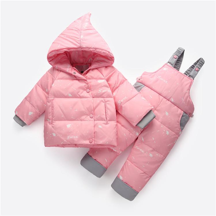 Детский комбинезон Snow Нежно-розовый