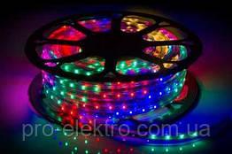 LED лента 2835 STANDART # 12-Multi-Color 6 цветов 48RGBWYP2835-220V-6W/m IP65 6mm №1 1017840