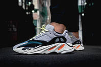 """Кроссовки Adidas Yeezy Boost 700 Solid """"Grey/Chalk White-Core Black"""" (реплика А+++ ), фото 1"""