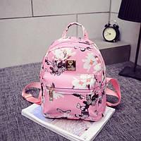 Женский рюкзак с Магнолиями и бабочками 1044, фото 1