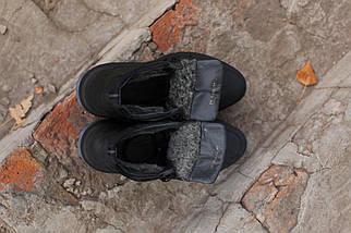 Мужские зимние ботинки  натуральная кожа черные. В Украине!, фото 3