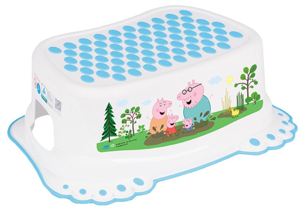 Подставка Tega Peppa Pig PP-006 нескользящая 103-N white-blue