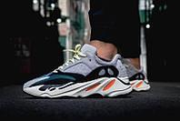 "Кроссовки Adidas Yeezy Boost 700 Solid ""Grey/Chalk White-Core Black"", фото 1"