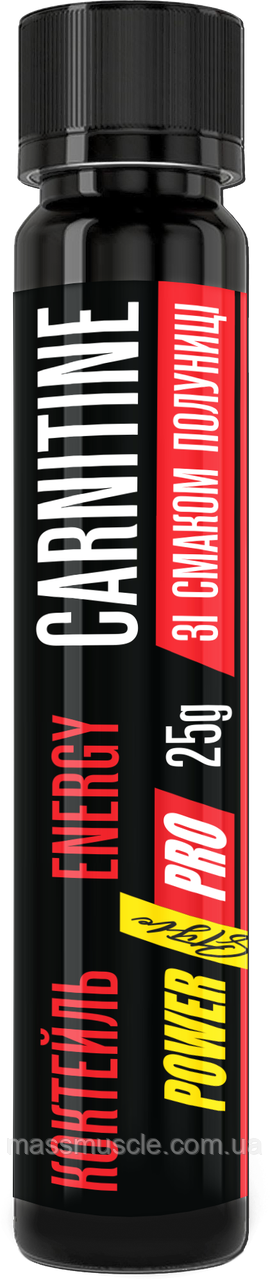 Карнитин Power Pro Carnitine energy Shot 20x25g