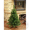 Ель искусственная с иголками их пленки ПВХ, искусственная елка 0,9м.