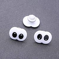 Фурнитура глазки для игрушек парные 19х25мм фас.50шт.