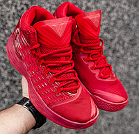 Кроссовки Мужские Nike AIR Jordan Melo M13, найк аир джордан красные,  реплика 14ea4e76f92
