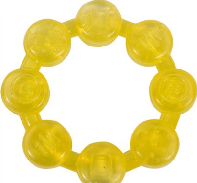 Прорезыватель для зубов с водой Бусинки «Курносики» 7042 (цвет уточняйте)