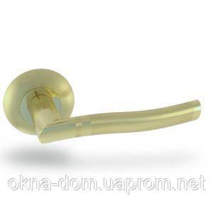 Ручки KEDR раздельные R10.035 (золото\матовое золото)