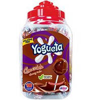 Чупа-Чупс Pin Pop Yogueta (Шоколадный йогурт) 1800гр. 100шт.