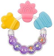 Прорезыватель для зубов с водой Яблочко «Курносики» 7044 (цвет уточняйте)