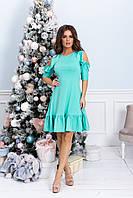 Платье женское в цветах 27683, фото 1