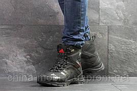 Черевики Adidas Climaproof чорні з білим зима , код6855, фото 2