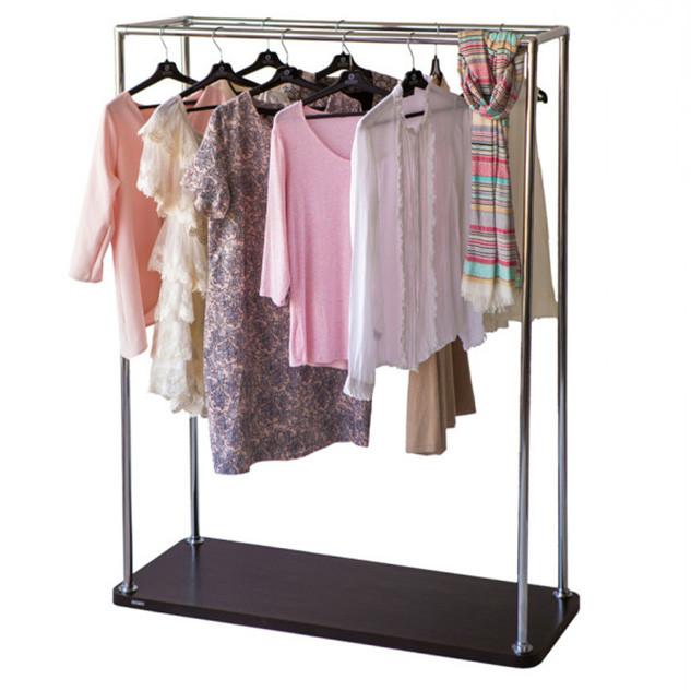 Хромированная стойка для одежды «БЮС 3»
