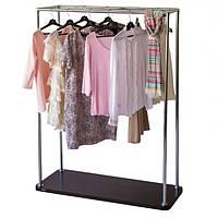 Хромированная стойка для одежды «БЮС 3», фото 1