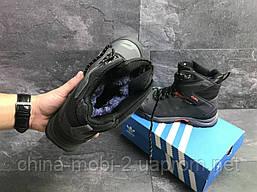 Ботинки Adidas Climaproof серые  зима , код6854, фото 3