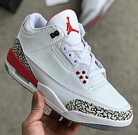503dac734c1b Кроссовки Мужские Nike AIR Jordan 4, найк аир джордан белые, реплика 41