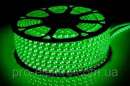 LED лента 2835 STANDART # 13-G 120G2835-220V-12W/m IP65 8mm Зелёный 1017849