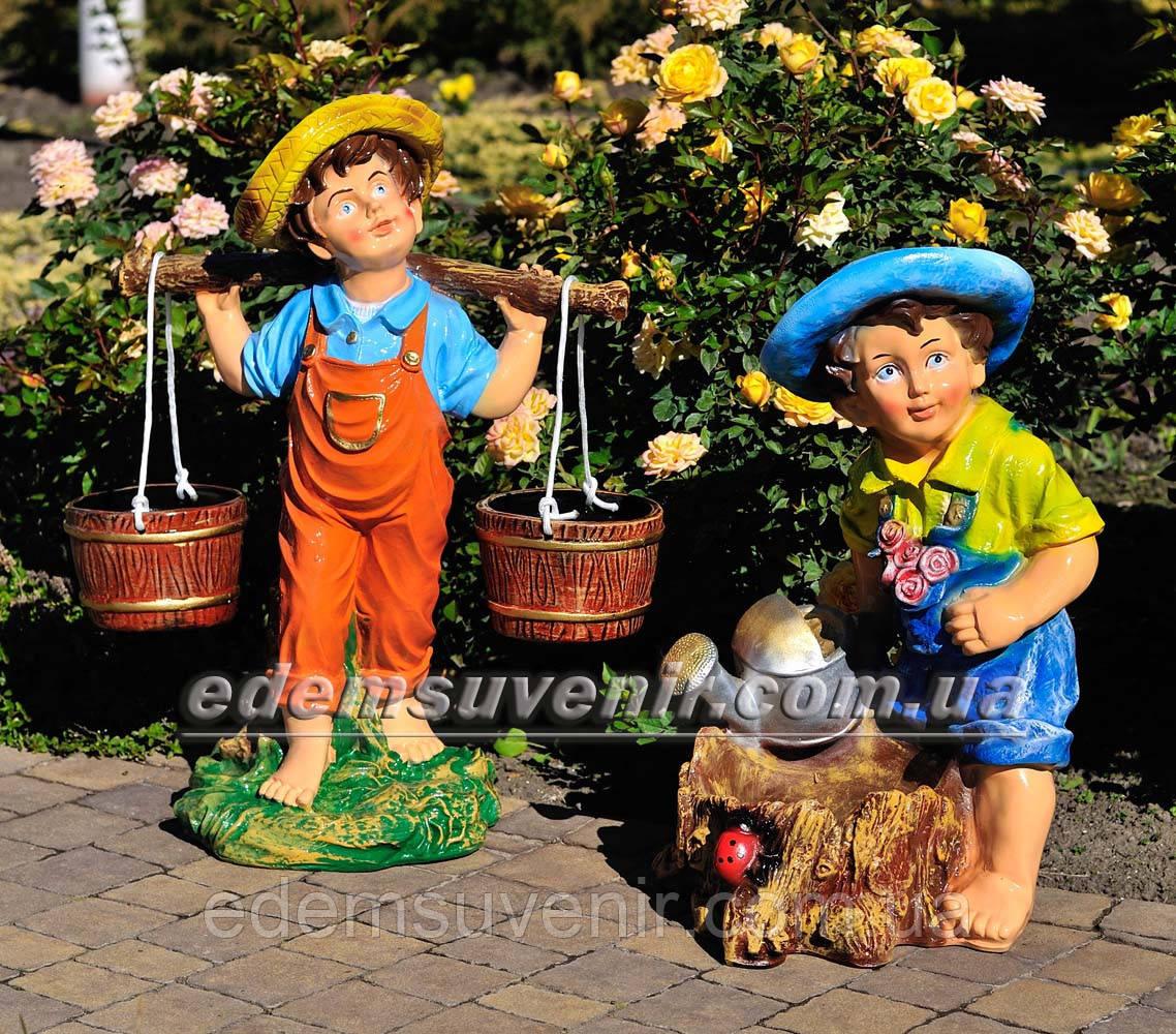 Садовая фигура Водонос и Садовник