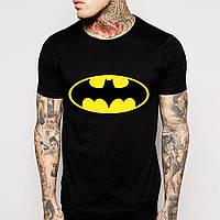 Футболка черная batman logo | Бэтмен топ