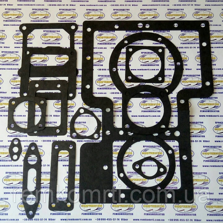Набор прокладок для ремонта КПП коробки передач трактор Т-16 (прокладки паронит)