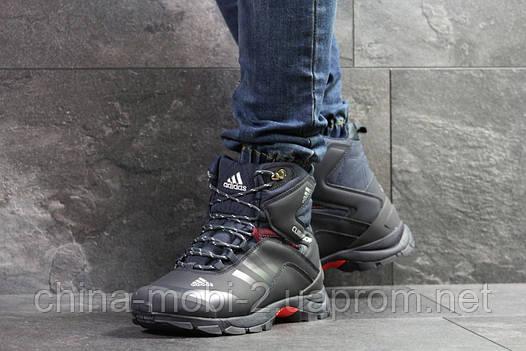 Ботинки Adidas Climaproof темно-синие  зима , код6852, фото 2
