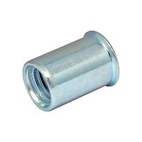 Гайка клепальная, уменьшенная потайная головка М4 х 0,5-2 мм (упаковка 500 шт)