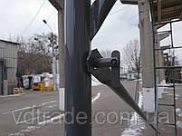 Флажковые Леса Стандартный Б/У комплект Висота: 4 м; Ширина: 3 м. 1 ярус., фото 5