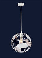 Подвесной светильник в виде планеты Земля 756PR3001-1 WH