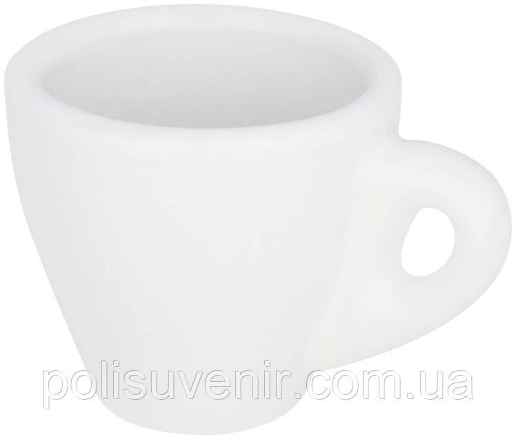 Біла кружка для еспресо 80 мл