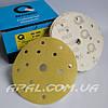 Q-Refinish Абразивный круг P400 Premium Gold Velcro, (150 мм, 15 отверстий)