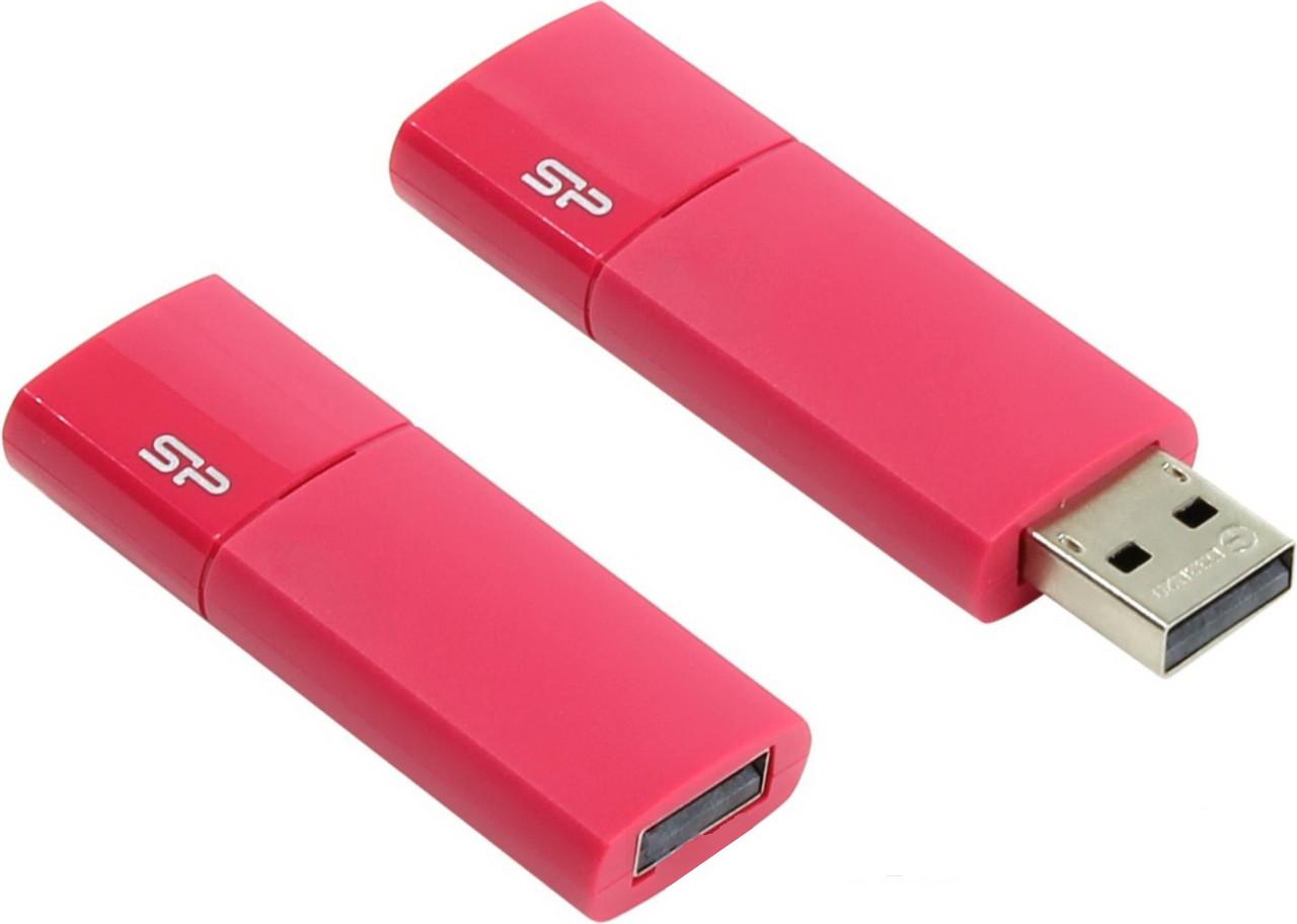 """USB-Flash 32 Gb """"SP"""" Ultima U05 Pink"""