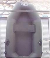 Лодка надувная SKIF K-190 одноместная материал ПВХ