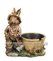 Садовая фигура Заяц малый и Зайчиха малая, фото 2