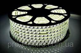 LED лента 2835 STANDART # 15-NW 120NW3014-220V-5.5W/m IP65 5mm Нейтральный белый 1017861