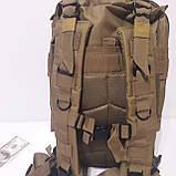 Рюкзак тактический армейский 35 л койот, фото 2