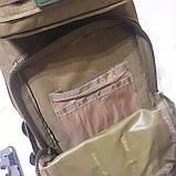 Рюкзак тактический армейский 35 л койот, фото 5
