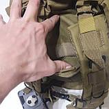 Рюкзак тактический армейский 35 л койот, фото 6